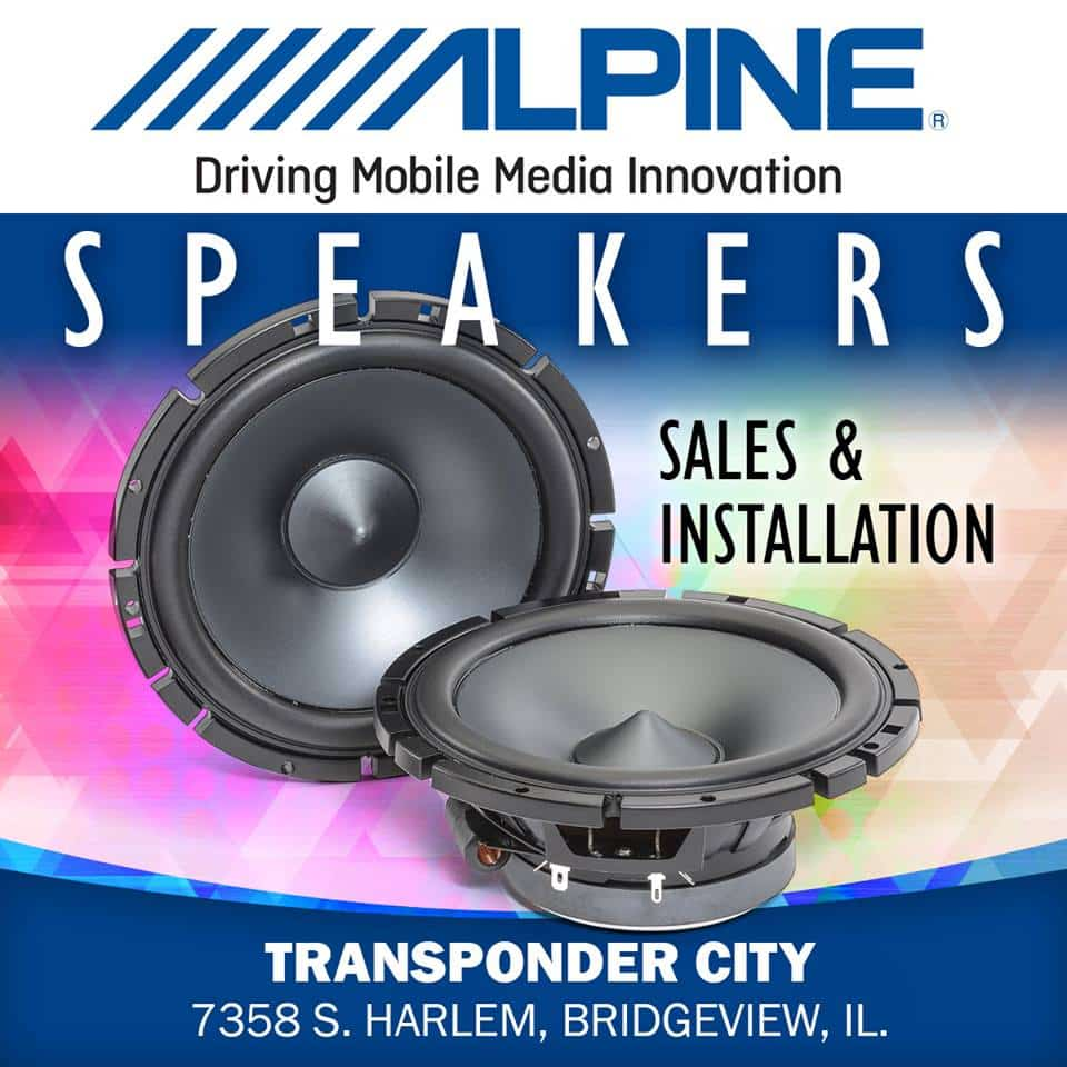 We sell, install and service Alpine car speakers