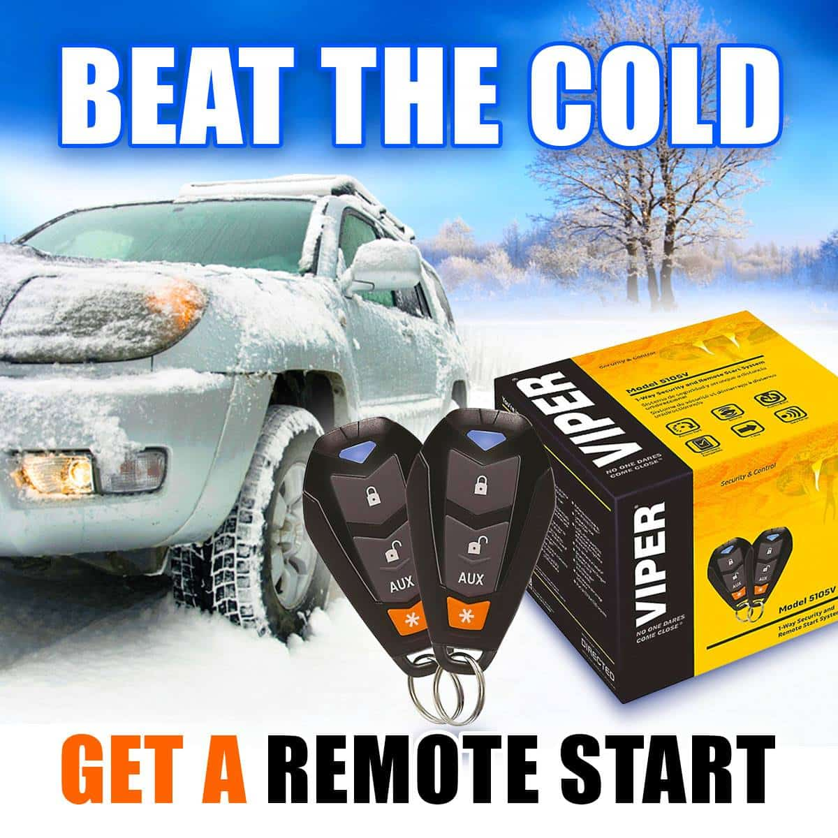We sell and install Viper remote starters
