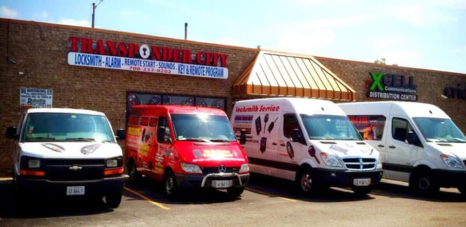 Transponder City Mobile Locksmith Trucks