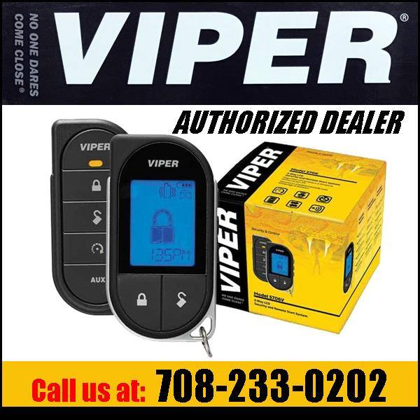 We sell and install Viper car alarms